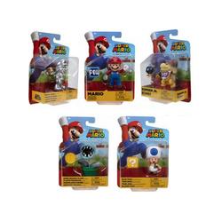 Figurines Mario 10 cm en assortiment