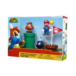 Set de 3 figurines Mario et accessoires - La Plaine du Grand Chêne