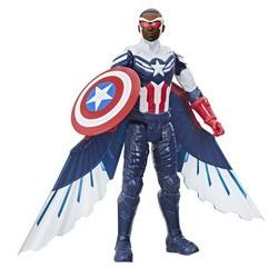 Figurine 30 cm Captain America - Marvel Avengers Titan Hero Series
