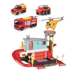 Centre de secours et 4 véhicules Sam le Pompier