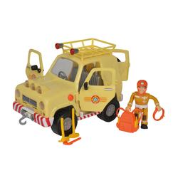 Véhicule 4X4 de montagne et figurine Sam le Pompier