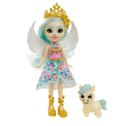 Poupée Enchantimals - Paolina Pegasus et Wingley