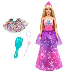 Barbie princesse transformation sirène