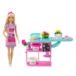 Barbie fleuriste