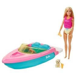 Barbie et son bateau