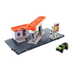 Matchbox - Playset Station Essence - Circuit / Petite Voiture