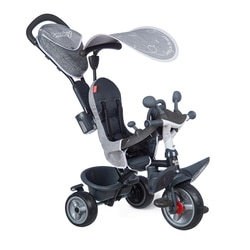 Tricycle évolutif Baby Driver Plus gris