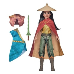 Poupée Raya tenues d'aventurière - Raya et le dernier dragon