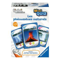 Tiptoi Mini Quiz - Les phénomènes naturels