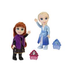 La Reine des Neiges 2 - Poupée Anna ou Elsa en assortiment - 15 cm