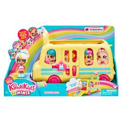 Bus scolaire Kindi Kids et sa poupée