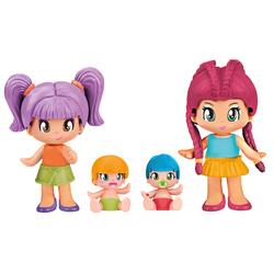Coffret de 4 figurines Pinypon