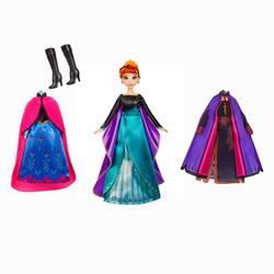 Poupée Anna et ses tenues - La Reine des Neiges 2