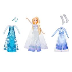 Poupée Elsa et ses tenues - La Reine des Neiges 2