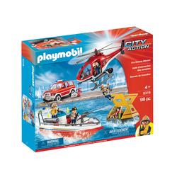 9319 - Playmobil City Action - Unité d'intervention des pompiers