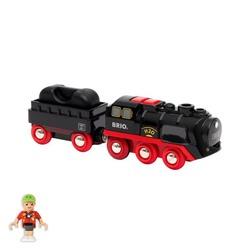 Locomotive à vapeur à piles