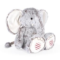 Peluche éléphant gris Noa Kaloo Rouge large