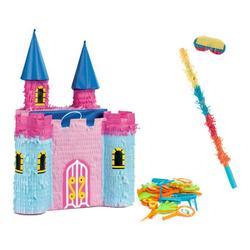Pinata garnie château coloré