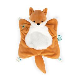 Fripons - Doudou carré renard léonard 20 cm
