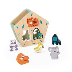 Boîte à formes animaux - Partenariat WWF®
