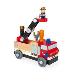 Camion de pompier Brico'kids en bois