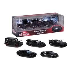 Coffret cadeau 5 voiturettes de luxe Black Édition Majorette Smoby Toys