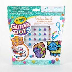 Glitter Dots Keychains Crayola