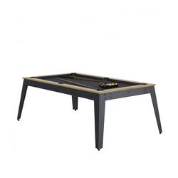 Billard Steel Chêne Slate + Plateau de table