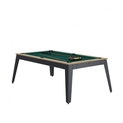 Billard Steel Chêne vert + Plateau de table