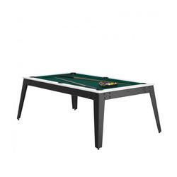 Billard Steel Blanc vert + Plateau de table