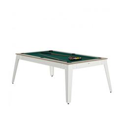 Billard Steel Oslob vert + Plateau de table