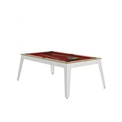 Billard Steel Chêne rouge + Plateau de table