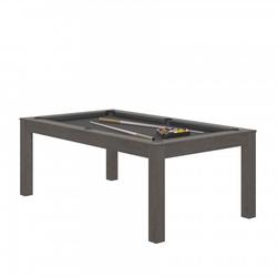 Billard Charme Anthracite slate + Plateau de table