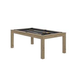 Billard Charme Chêne slate + Plateau de table