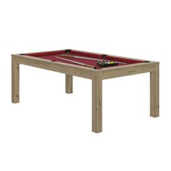 Billard Charme Chêne rouge + Plateau de table