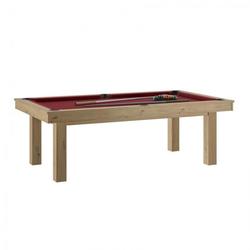 Billard Lafite Chêne rouge + Plateau de table