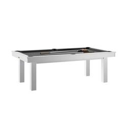 Billard Lafite Blanc slate + Plateau de table