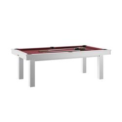 Billard Lafite Blanc rouge + Plateau de table