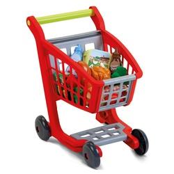 Chariot de supermarché garni + 14 accessoires