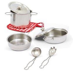 8 accessoires de cuisine en métal