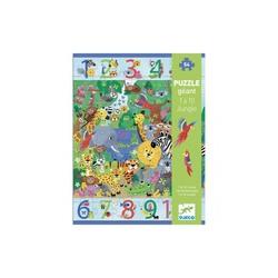Puzzle géant jungle 54 pièces