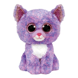 Peluche Beanie Boo's - Cassidy le chat 15 cm