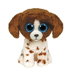 Peluche Beanie Boo's - Muddles le chien 15 cm