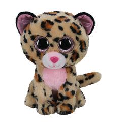Peluche Beanie Boo's - Livvie le léopard 15 cm