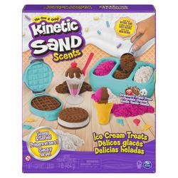 Kinetic Sand - Coffret glaces parfumées sable magique à modeler