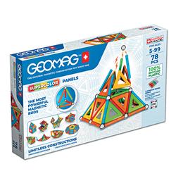 GEOMAG - EcoFriendly 78 pcs Panels supercolor