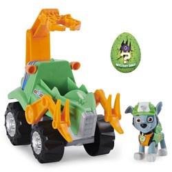 Véhicule Pat'Patrouille avec figurine Rocky Dino Rescue - Paw Patrol dinosaure