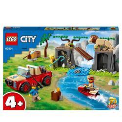 60301 - LEGO® City - Le tout-terrain de sauvetage des animaux sauvages