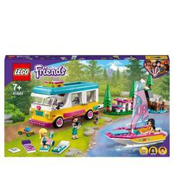 41681 - LEGO® Friends - Le camping-car et le voilier de la forêt