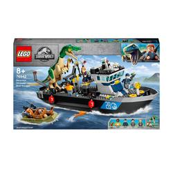 76942 - LEGO® Jurassic World - L'évasion en bateau du Baryonyx